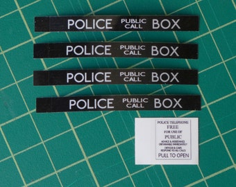 TARDIS Stickers