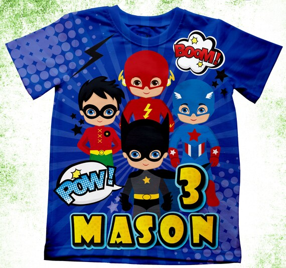 Personalized batman inspired t shirt boys superhero t shirt Boys superhero t shirts