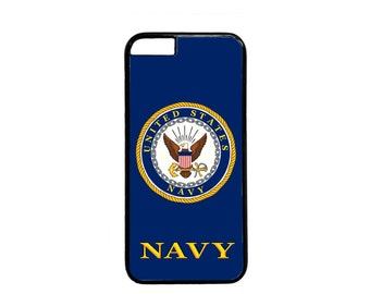 US Navy USN Logo Case Cover for iPhone 4 4s 5 5s 5c 6 6s 6 Plus iPod touch case