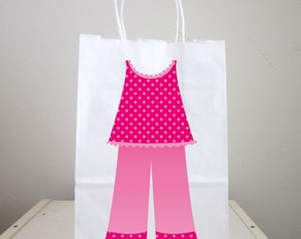 Sleepover Goody Bags, Slumber Party Goody Bags, Sleepover Favor Bags, Slumber Party Favor Bags