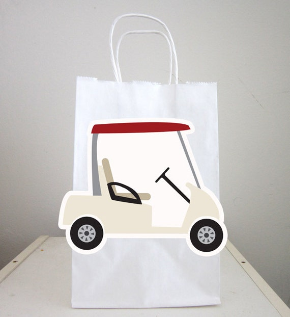 Golf Cart Goody Bags Golfing Goody Bags Golfing Party Favor