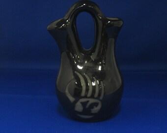 Black Pueblo Pottery Vase Santa Clara Pueblo