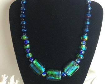 Multicolored Ceramic necklaces