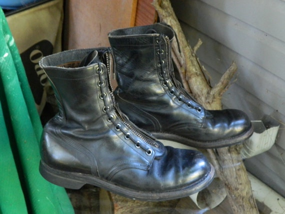 1966 Unknown Brand Military Combat Boot / US Men size: 10 R /