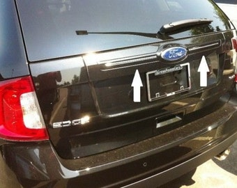 Chrome Rear Trunk Hatch Trim Molding For FORD EDGE 2011-2014