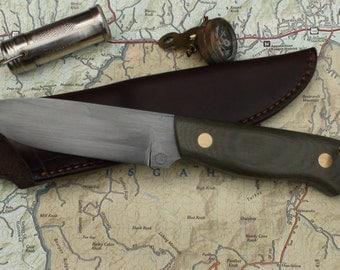Custom made bush knife.