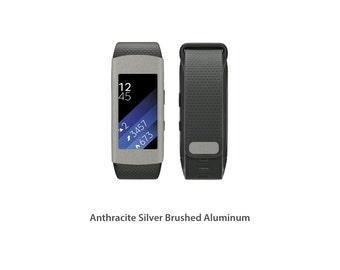 Samsung Gear Fit2 Wrap DECAL Sticker Skin Kit Metal series by Stickerboy - Set 1