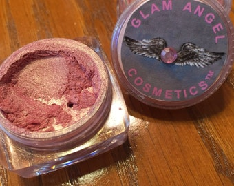 Glam Angel Mineral Blush - Glimmer - sealed sifter jar- Mineral Makeup