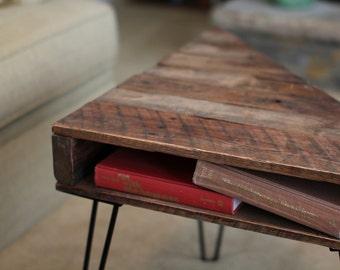 Reclaimed Wooden Coffee Table - The Grady