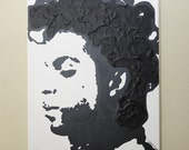Prince Painting (16x20) Prince Art, Pop Art, Black and White painting