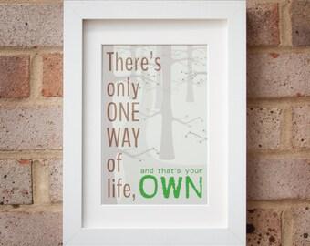 One Way - Gicleé Print