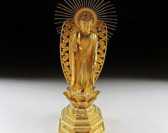 Vintage Amida Nyorai Buddha