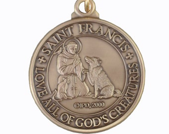 Saint Francis Dog Tag for all of God's Creatures