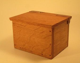 Salvaged wood box