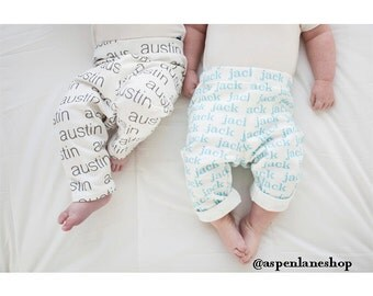 Personalized Baby Leggings Photo Prop, Name leggings, baby clothing, newborn pictures