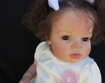 CUSTOM ORDER Reborn Toddler Arianna baby girl by Reva Schick!!