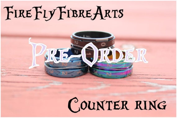 Knitting Counter Ring : Pre order listing for knitting counter rings by