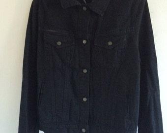 Black Denim Jacket S/M