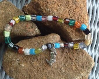 Charming Bead Mermaid Bracelet