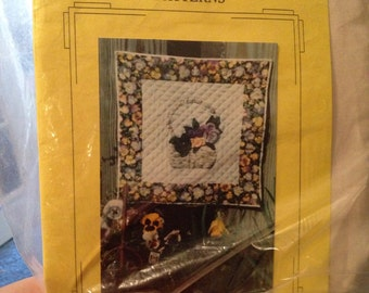 Fresh picked patterns, pansy passion, instructions for making your pansies appear 3-dimensional