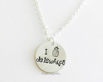 I love Dolewhips Necklace