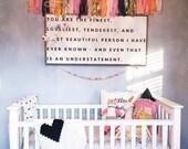 Crochet Heart MINI Baby Blanket, Lovey, Security Blanket, Gender Neutral