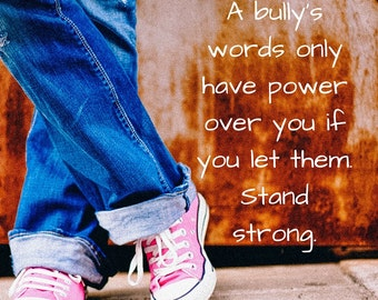 YOU Are Not ALONE e-Book, Anti-Bullying, Confidence Boosting, Guide For Teen Girls