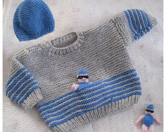 Channel Swimmer - Knitting Pattern