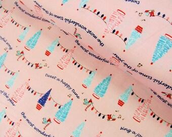 Pixie Noel - Pixie Trees(Pink) - Tasha Noel - Riley Blake Designs