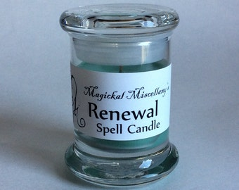 Renewal Spell Candle - Start Again