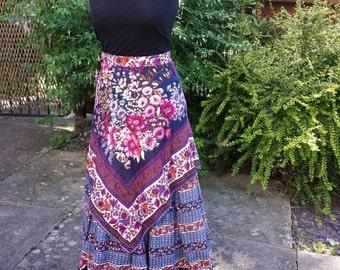Vintage Seventies maxi skirt.