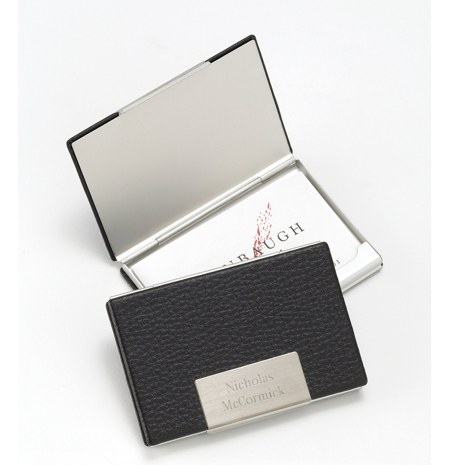 Personalized Business Card Case Monogrammed business Card