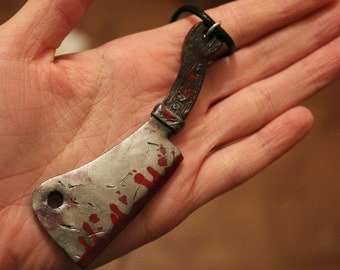 Meat Cleaver Necklace (made to order)