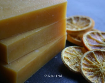 Orange and Pettigrain Soap - Palm Oil Free