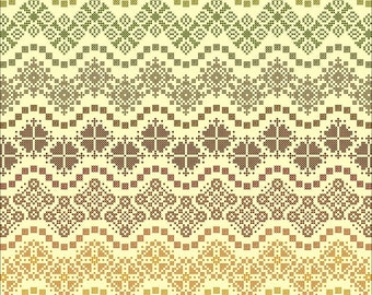 Esther's Waves - Cross Stitch ONLY PDF Chart by Northern Expressions Needlework