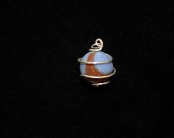 Sea Marble Pendant