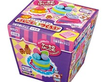 "Kutsuwa Japanese DIY Eraser making kit! ""Cake"" set!"