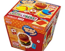 "Kutsuwa Japanese DIY Eraser making kit! ""Hamburger"" set!"