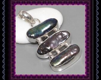 Biwa Pearl Pendant