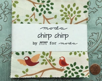 Chirp Chirp by MoMo for Moda Fabric - Charm Pack