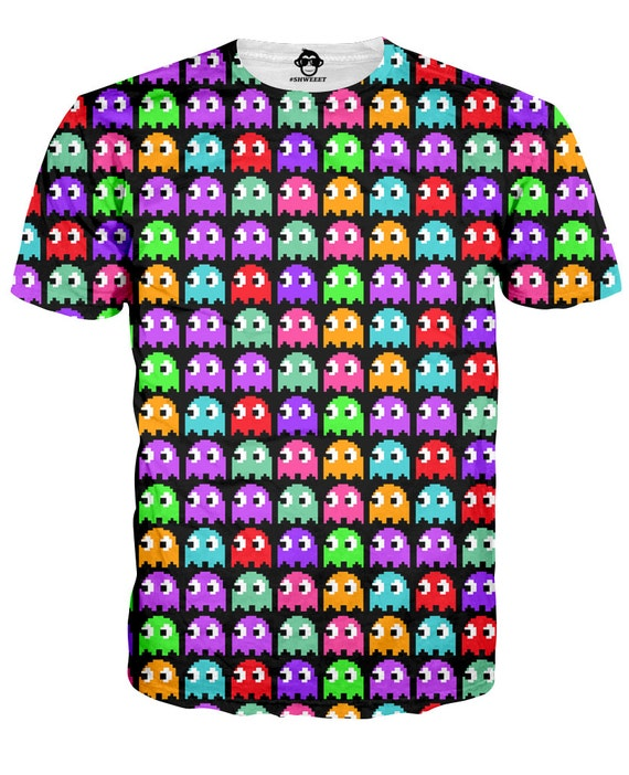 Pac-Man Multiple Ghosts T-shirt