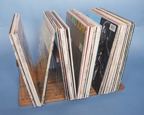 Vinyl Record Storage Rack