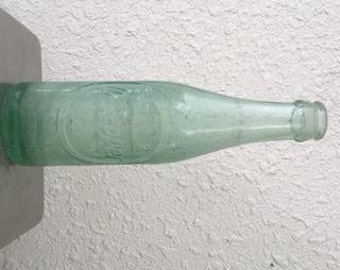 Wichita Falls Texas TX Vintage Glass Dr Pepper Soda Bottle Embossed Crown Top
