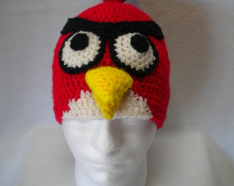 Inspired by Angry Birds, Red bird Beanie