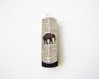 Elephant on Dictionary USB Flash Drive 8GB, Personalized Flash Drive, Thumb Drive