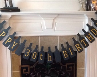 30th Birthday Banner