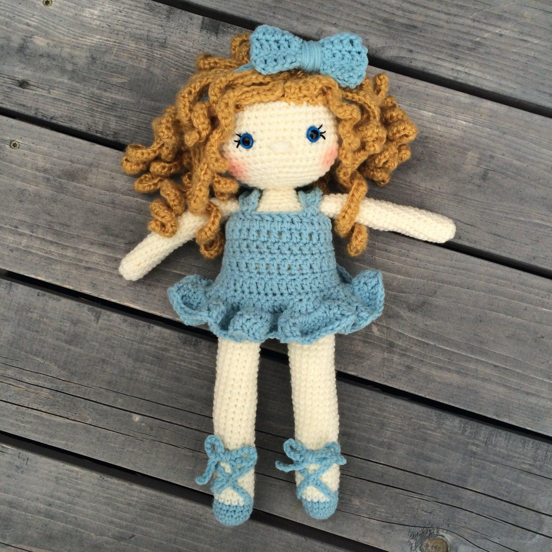 Crochet Doll Pattern Amigurumi Doll Pattern Dolly Crochet Girl