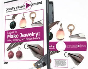 Learn to Make Jewelry: Wire, Finishing and Design Basics - DVD (VT2530)