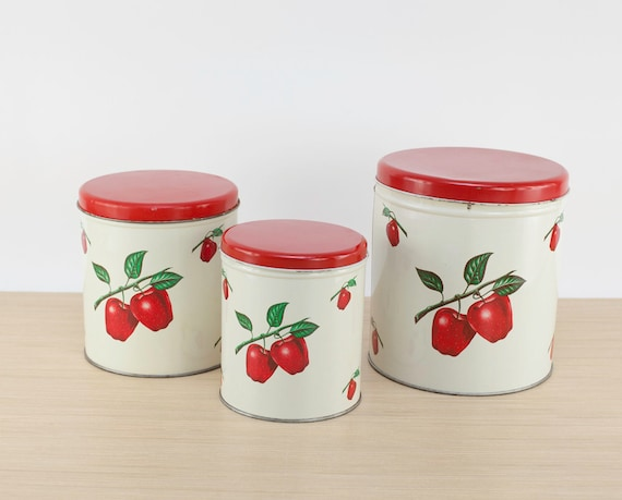 Apple Canisters Sets. Casa Cortes Apple Collection Piece