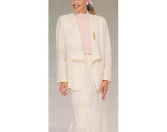 Butterick Sewing Pattern 5459  Misses' Jacket, Skirt  Size:  B  14-16-18  Uncut